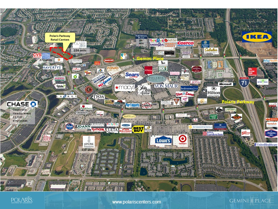 Northwest Polaris Parkway - Available Land - POLARIS Centers of Commerce